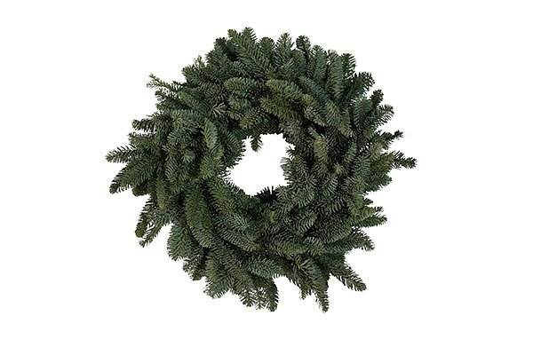 22 in Plain Wreath
